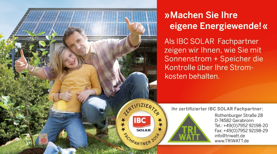 IBC-Solar Fachpartner